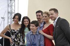 OUAT Comic Con - Lana Parrilla - Emilie de Ravin - Josh Dallas - Jennifer Morrison - Colin O'donoghue - Jared Gilmore
