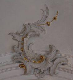 Boiserie paneling detail
