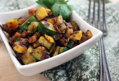 Curried Summer Squash (gluten-free, vegan, soy-free, nut-free, paleo-friendly)