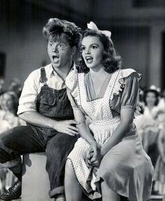 Judy and Mickey in 'Babes on Broadway'