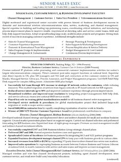 Sales Account Manager Resume Example | Pinterest | Sample resume ...