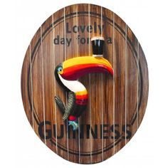 Mully's Touch of Ireland - Guinness 3D Oval Toucan, $59.95 (http://www.mullystouchofireland.com/guinness-3d-oval-toucan/)