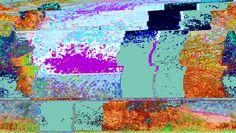 databent video stills glitch created by Donna Kuhn