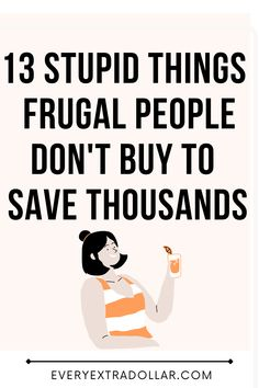 Ways To Save Money, Money Saving Tips, Pay Off Mortgage Early, Stupid Things, Create A Budget, Frugal Living Tips, Debt Payoff, Save Me, Extra Cash