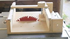 Table Saws how to make a cross cut sled for a table saw, wood box joints table saw - This table saw cross cut sled features an expandable clamp system running on aluminum tracks Table saws come in all sizes, w Table Saw Crosscut Sled, Table Saw Sled, Table Saw Jigs, Diy Table Saw, A Table, Woodworking For Kids, Woodworking Desk, Woodworking Workshop, Woodworking Projects