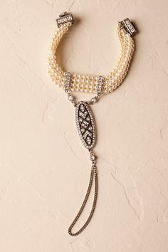 Silver Capitol Bracelet | BHLDN