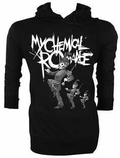 my chemical romance Gerard Way MCR The Black Parade Retro VTG Hoodie Jumper
