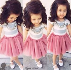 This little girl outfit is too cute! Her hair is pretty.... Although idk if I'd curl my daughters hair at THIS age LOL