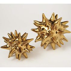 Urchin Bright  Gold - Accessories - Table Art