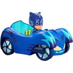 PJ Masks Vehicle - Cat Car Just like the show, this PJ Masks Catboy Cat Car fits all three of the heroes. Your kids will love playing with this as it stimulates their imaginations. * Cat Car with Room for All 3 Heroes. Toys R Us, Boy Toys, Kids Store, Toy Store, Cat Crying, Pikachu, Boy Cat, Cats For Sale, Pj Mask