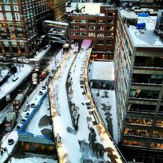 The High Line. : @bapple_nyc via IG