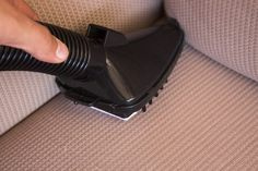 Couches come in a variety of materials, from cotton upholstery to leather. Many of these materials are difficult to clean with normal household cleansers, which often leave spots or marks behind. ...