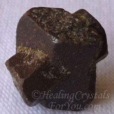 Staurolite or Fairy Cross Stone: Unique in that they naturally form the shape of a cross. Called fairy stones as they can help you contact beings from nature. Relieve stress, anxiety and fear. Help to stop smoking. Promotes healing, good for grounding. Help in finding lost items.