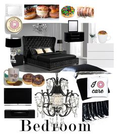 """""""Donuts in Bed"""" by jaymagic ❤ liked on Polyvore featuring interior, interiors, interior design, home, home decor, interior decorating, Dorel, Gallery, Gingerlily and Sweet Dreams"""