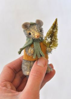 Asher, the mouse, One of a kind - Hand Made by Jennifer Murphy - 2011