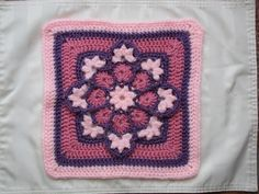 Stained Glass Afghan Square   Ravelry: KrisMarie's Stained Glass Afghan Square April 12