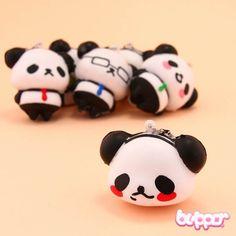 Squishy Ojipan Panda Charm