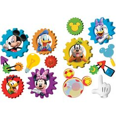 Mickey Mouse Clubhouse 2-Sided Classroom Decor | Eureka School