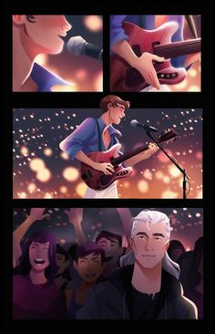 third part (first and second) in my Modern AU for Jaskier and Geralt - this one, as i imagine, happened after their big fight, so Jaskier doesn't know that Geralt is listening to his new banger about. The Witcher Geralt, Witcher Art, Anime Wolf, Anime Outfits, Hunger Games, Baby Girl Shower Themes, Baby Shower, Templer, Fandoms
