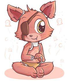 Image via We Heart It https://weheartit.com/entry/146935990 #cute #foxy #fivenightsatfreddy's #fnaf