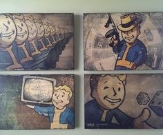 So freaking cool. Decorate like a nerd-baus. As seen on http://www.instructables.com/id/Printed-Wooden-Panels-for-Your-Home-or-how-to-dec/ IMAG0804.jpg