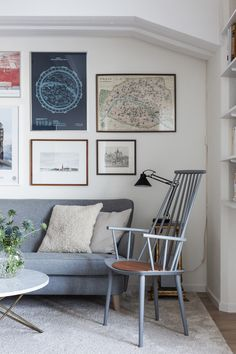 A Small Stockholm Apartment With a View - Bliss