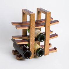 Wine Barrel Project Rack