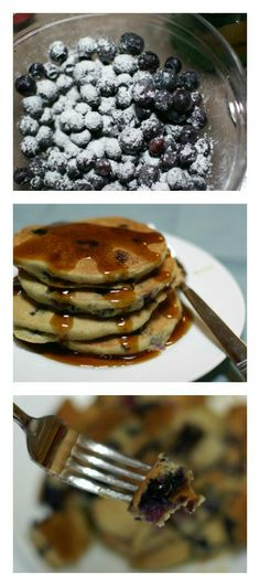 Blueberry Lemon Pancakes | 5DollarDinners.com
