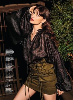 Laetitia Casta Wears Glam Looks in Tokyo for Grazia France Laetitia Casta, Sophie Dahl, Tokyo, Grazia Magazine, Faye Dunaway, Guess Girl, French Models, French Actress, Best Model