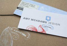Amy McAdams Business Cards | Business Card Design