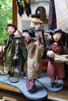 Villagers by Little Angel Theatre, via Flickr