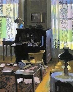 Fairfield Porter, The Desk, 1963, oil on canvas