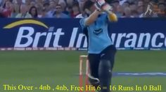 OMG....16 Runs In 0 Ball Worst Over in Cricket History 2016