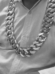 M'y big chain silver38mm 80co 2300grammes