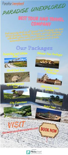 Find amazing deals on all Special Tour Packages, Get best Hotels Booking, Holidays Packages, and Cabs Booking at affordable prices and have a fantastic visits with most memorable moments in prestigious parts of India. To know more visit http://www.paradiseunexplored.com/