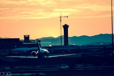 The airport in Nevada. #photography