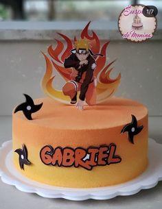 Themed Birthday Cakes, 30th Birthday Parties, Themed Cakes, Bolo Do Naruto, Naruto Party Ideas, Naruto Birthday, Anime Cake, Sport Cakes, Cake Decorating Techniques