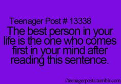 Teenager Posts (Saska you probs know) there's a few but one of them...