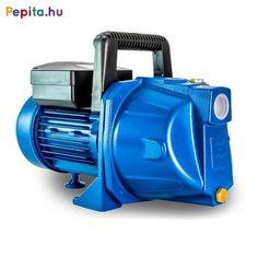 Elpumps által gyártott JPV1300B Jet rendszerű szivattyúk tiszta víz, vagy hozzá hasonló tulajdonságokkal rendelkező, nem agresszív és nem éghető folyadékok szállítására alkalmasak. Kiválóan használhatók háztartások ivóvízszükségleteinek és egyéb használati vizének pl. öntözés, locsolás biztosítására.    Előnyei:  A szivattyú konstrukciójából adódóan önfelszívó, csak a szivattyút kell felönteni.  A levegőt automatikusan kitermeli magából, így a szivattyú működése nem áll le.  Az axiál… Irrigation, Private Jet, Outdoor Power Equipment, Vacuums, Modern, Ideas, Products, Gardens
