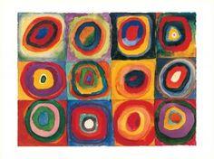 Kandinsky- kids art project