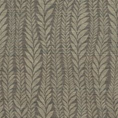 Florian (60779) - Harlequin Wallpapers - A beautiful textured horizontal stripe background with metallic detail and a vertically undulating graduated leaf pattern. Co-ordinates with Oralia. Available in 6 colours – shown in gold on brown. Please ask for sample for colour match.
