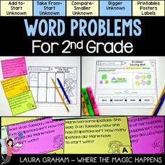Where the Magic Happens: Word Problems: It's All About the Relationships {and great FREEBIES!}