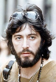 Al Pacino in Serpico Top Hollywood Actors, Old Hollywood Movies, Handsome Italian Men, Young Al Pacino, Creepy Guy, Most Stylish Men, Hair Styler, The Expendables, Fantasy Male
