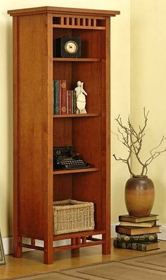 Mission Craftsman 4 Shelf Bookcase