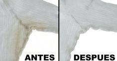 Incluso los mejores desodorantes, en roll-on o spray, acaban dejando manchas amarillas en la tela de la ropa...