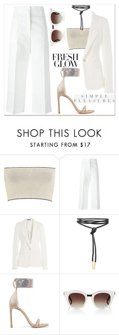 """OOTD"" by gigi-lucid ❤ liked on Polyvore featuring Calvin Klein Collection, Marni, Maison Margiela, Stuart Weitzman, Thierry Lasry, ootd, polyvoreeditorial and polyvorefashion"