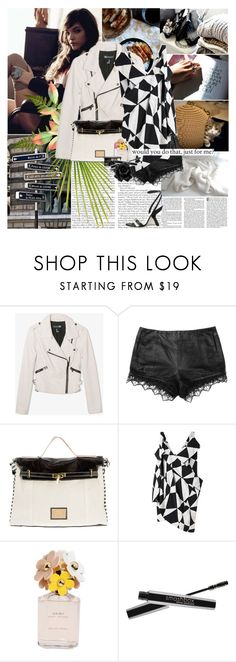 """""""Barbara Palvin"""" by rainie-minnie ❤ liked on Polyvore featuring Forever 21, rag & bone, Limi Feu, Marc Jacobs and Smashbox"""