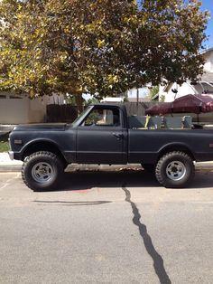 Chris's truck