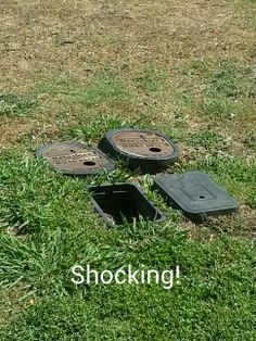 Shocked water meter