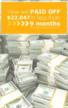 The story of how one family paid off over $20k ($22,047.93 to be exact!) in less than 9 months on one income, plus 9 crazy things they did to be debt free. If you love a good debt free story, you'll love this amazing story of faith, miracles, and frugal living.